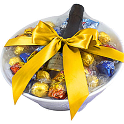 Happy Times Wine And Chocolates: Gift Baskets to Australia