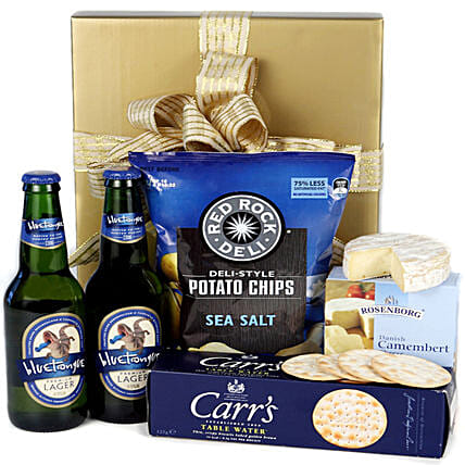 Happy Food And Drink Hamper: Gift Baskets to Australia