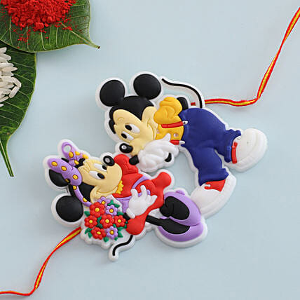 Micky Mouse Kids Rakhi: Send Rakhi to Bulgaria