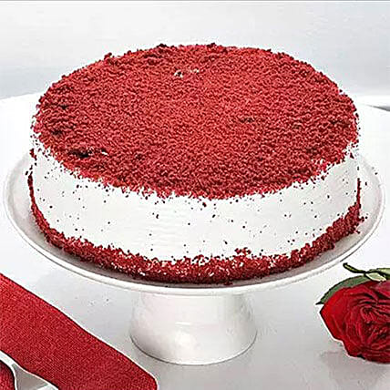 Red Velvet Cake 500GM: Send Christmas Gifts to Canada