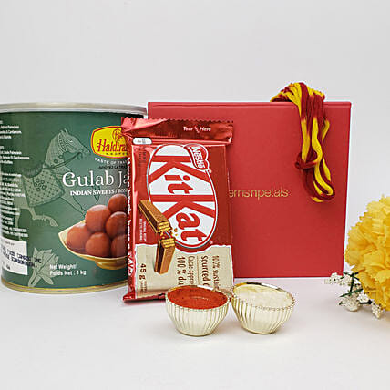 Sweet Express For Bhai Dooj Celebration: Chocolate Gift Baskets in Canada