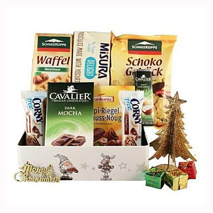 Sweet Moments Diabetic Gift Basket: Business Gifts to Finland