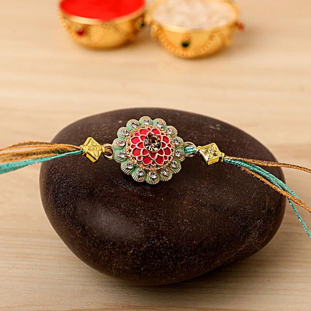 Traditional Design Rakhi: Rakhi to Germany