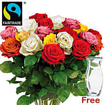 Bewitching Bouquet Of Mixed Roses