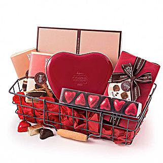Corne Port Royal Chocolate Basket