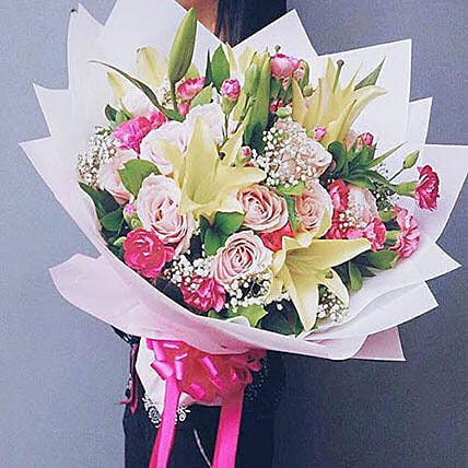 Happy Day: Send Flowers to Indonesia