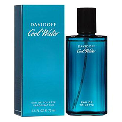 Cool Water By Davidoff For Men Edt 75Ml: Fathers Day Gift Delivery Kuwait