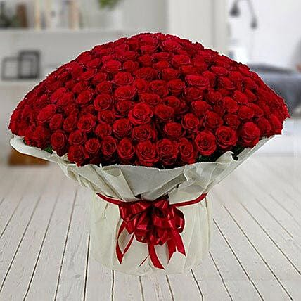 500 Red Roses Premium Bouquet: Gifts for Hug Day