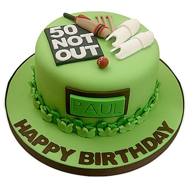 50th Birthday Cake: Send Designer Cakes