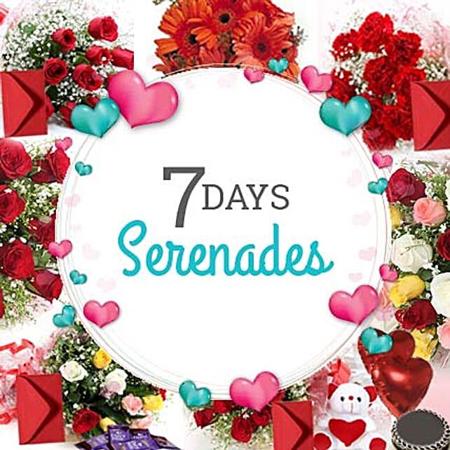 7 DAYS SERENADE: Send Valentines Day Serenades