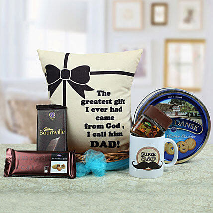 A Yummy Treat for Daddy: Send Thank You Gift Hampers
