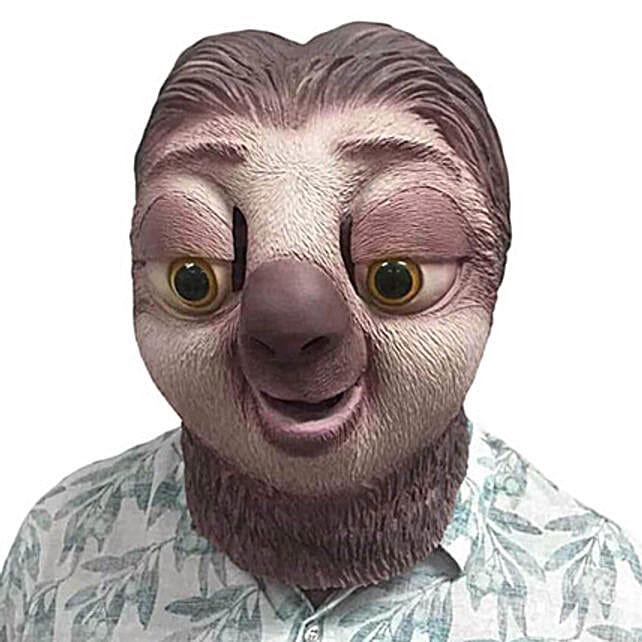 Amazing Sloth Mask: