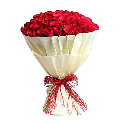 Authentic Love 100 Roses: Valentines Day Flowers