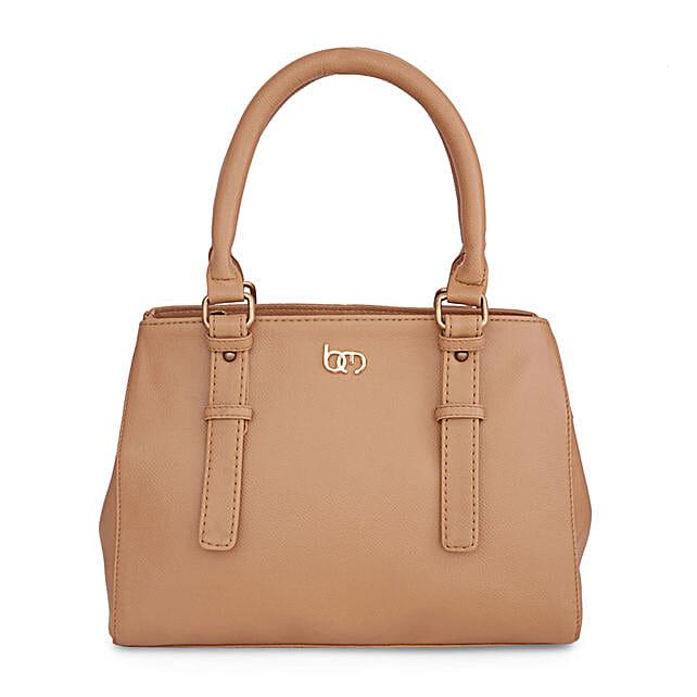 Bagsy Malone Burlywood Handbag: Handbags and Wallets