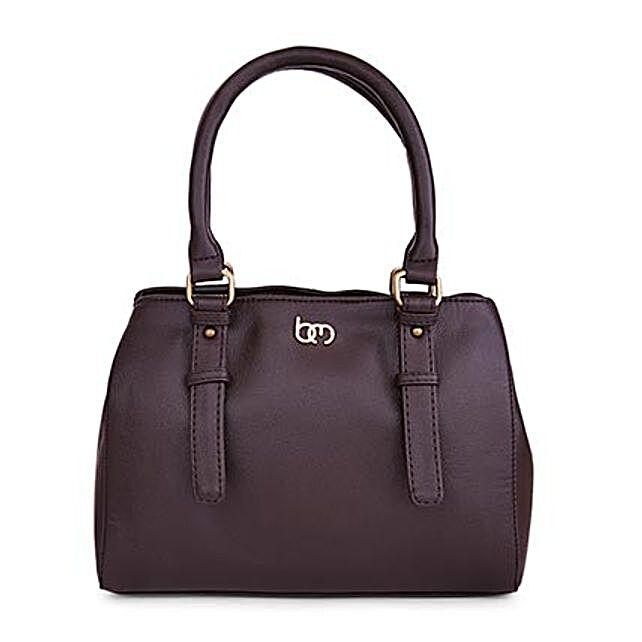 Bagsy Malone Indiana Brown Handbag: Handbags and Wallets Gifts