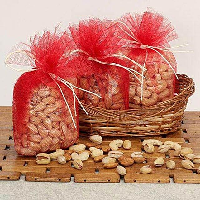 Basket Of Dry Fruits: Send Bhai Dooj Gift Hampers