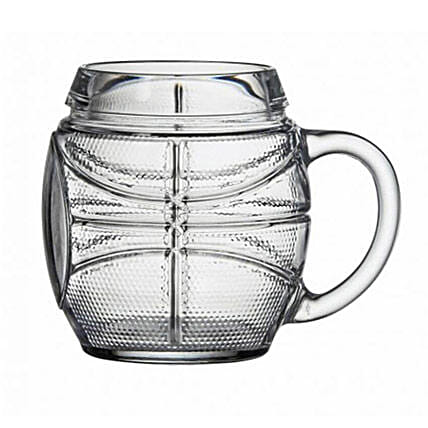 Basketball Beer Mug: Bar Accessories