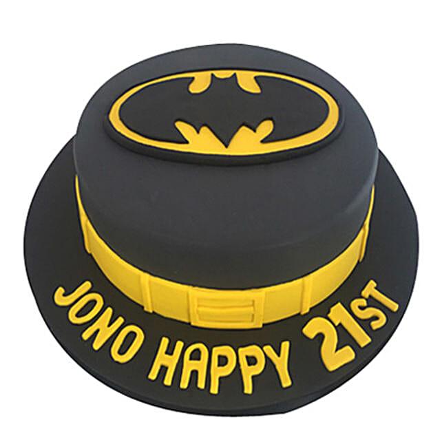Batman Fondant Cake Cartoon Cakes