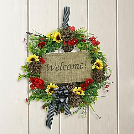 Beautiful Wreath: Artificial Flowers