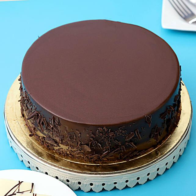 Belgian Choco Cake: 50Th Anniversary Cakes