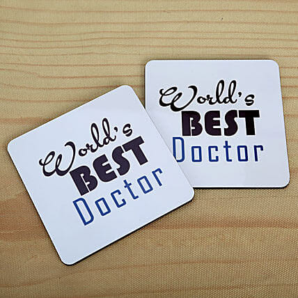 Best Doctor Coasters: Coasters Gifts