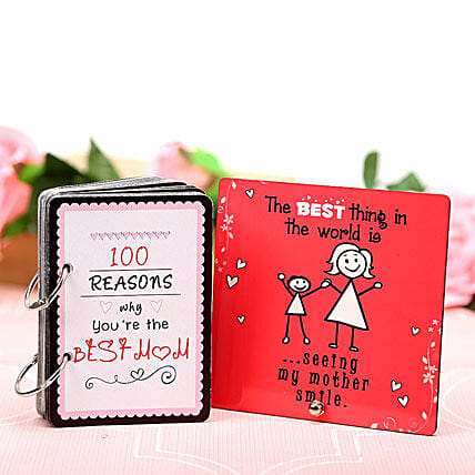 Best Mom With Best Smile: Plaques Gifts