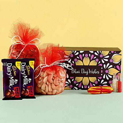 Bhai Dooj Special Treats Hamper: Combo Gifts