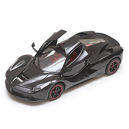 Black Rechargeable Toy Ferrari: Kids Toys & Games