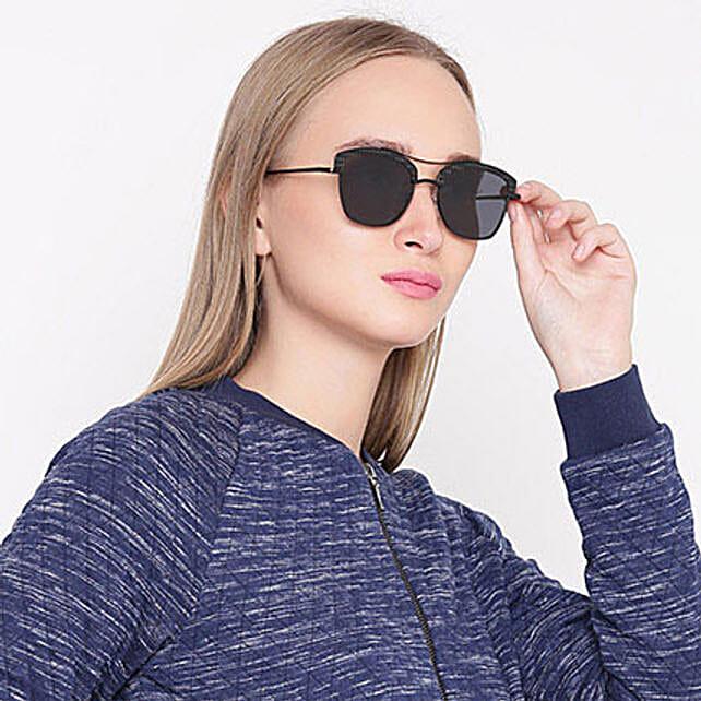 Black Wayfarer Unisex Sunglasses: Fashion Accessories