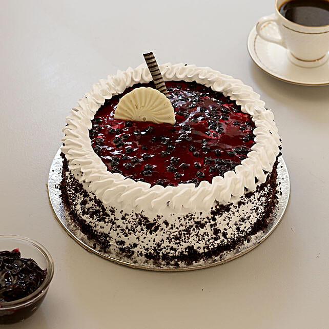 Blueberry Drizzle Cake: Send Cake