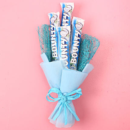 Bounty Chocolate Bouquet: Gifts for Hug Day