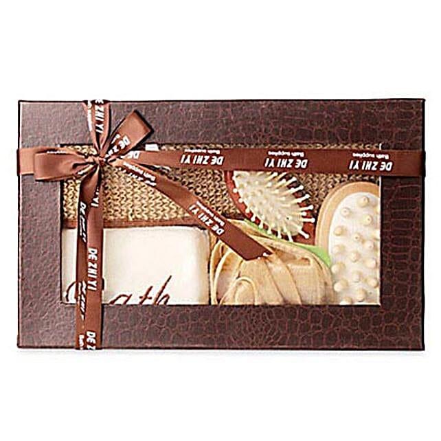 Brown Body Spa Kit: Cosmetics & Spa Hampers