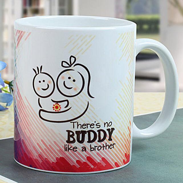 Buddy Brother Mug: Rakhi Gifts