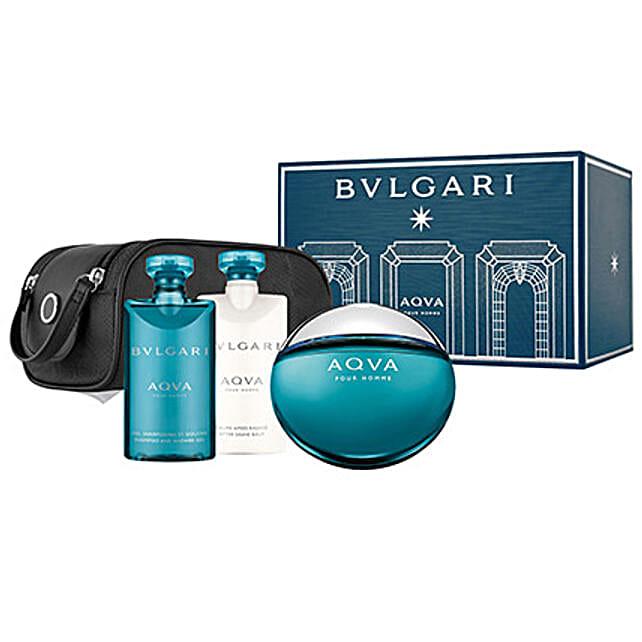 BVLGARI Aqua Gift Set For Men: Thank You Gift Hampers