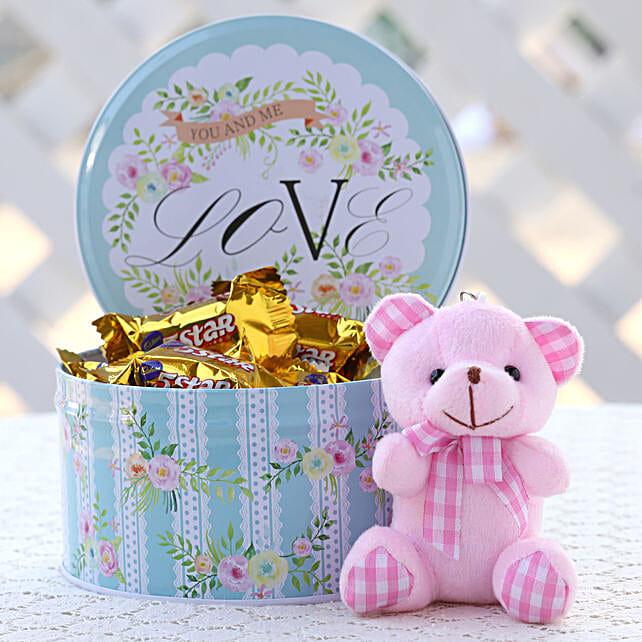 Cadbury Five Star in Round Tin Box: Chocolates Shopping India