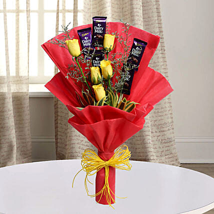 Cadbury With Rose:
