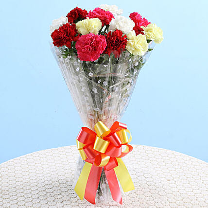 Charming Carnations Bouquet: Carnations