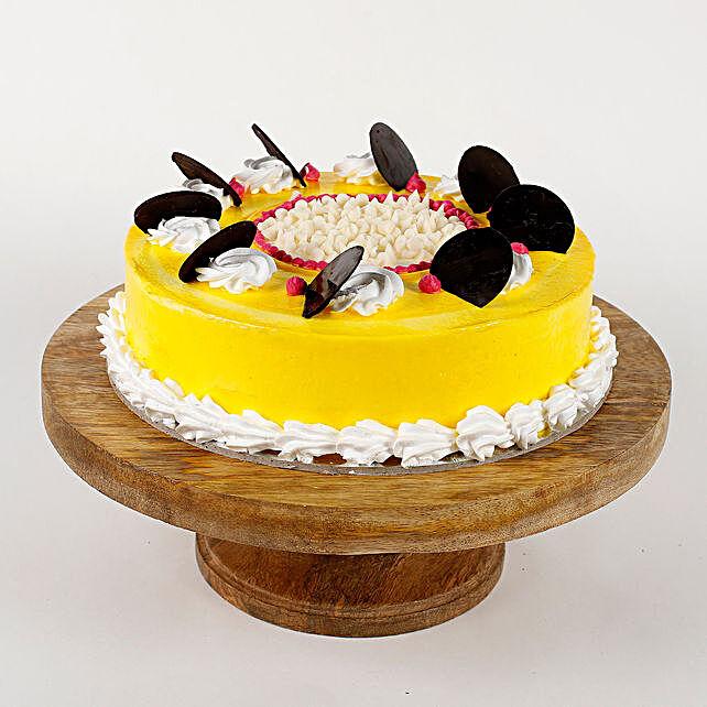 Choco Coin Cream Cake: Send Vanilla Cakes