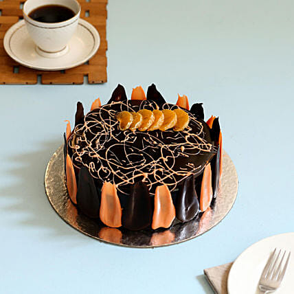 Choco Orange Cake: Send Chocolate Cakes