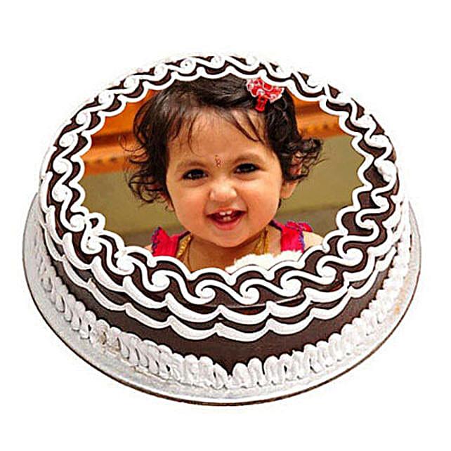 Chocolate Photo Cake Send Cakes