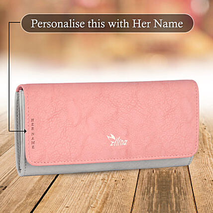 Classic Pink Wallet: Gift for Girlfriend Day
