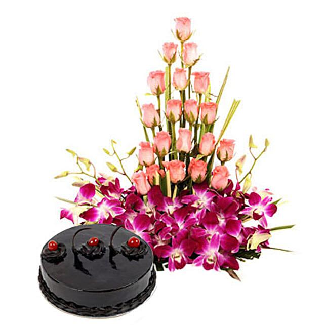 Colour N Cake: Flower Basket
