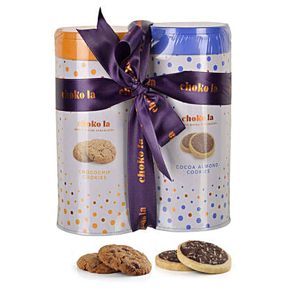 Cookie Combo- Almond & Chocochip: Gourmet Gifts India