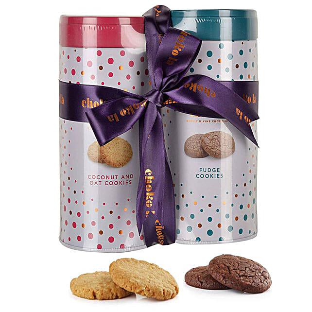 Cookie Combo- Oats & Fudge: Send Gourmet Gifts