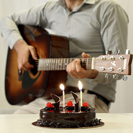 Creamy Musical Surprise: Gifts N Guitarist Service