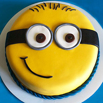 Cute Minion Cake Delivery In Pune