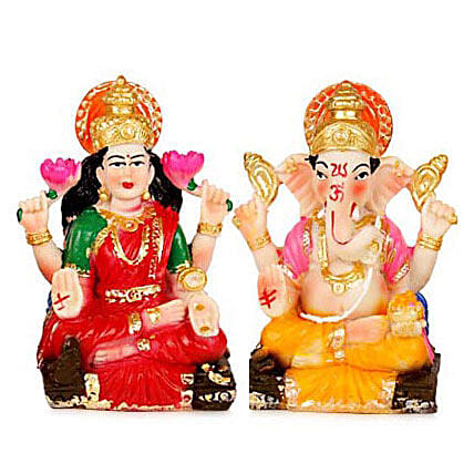 Divinity with Prosperity: Laxmi Ganesha Idol Gifts