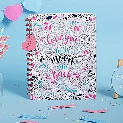 Doodle Head Over Heels Personalized Diary: