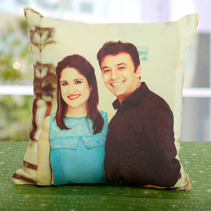 Double Sided Printed Personalized Cushion: Cushions