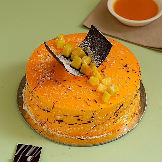 Exquisite Mango Cake: Cakes